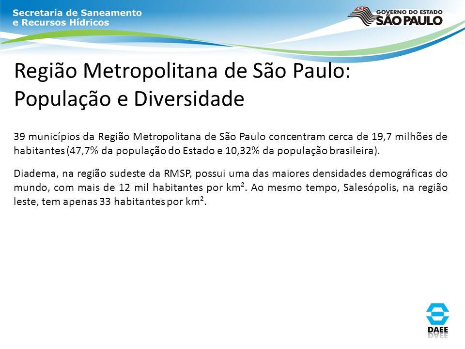 Região Metropolitana de São Paulo: População e Diversidade