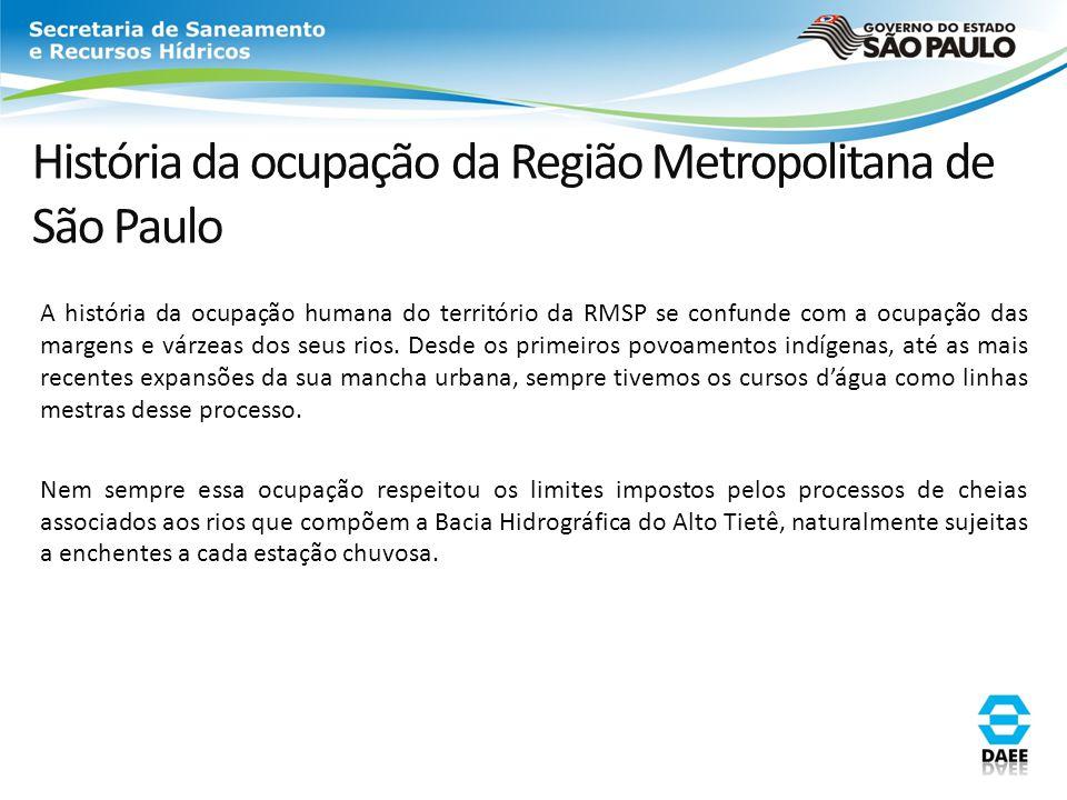 História da ocupação da Região Metropolitana de São Paulo