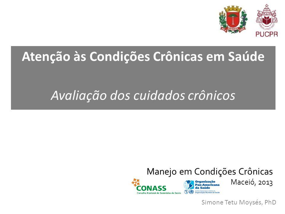 Manejo em Condições Crônicas Maceió, 2013