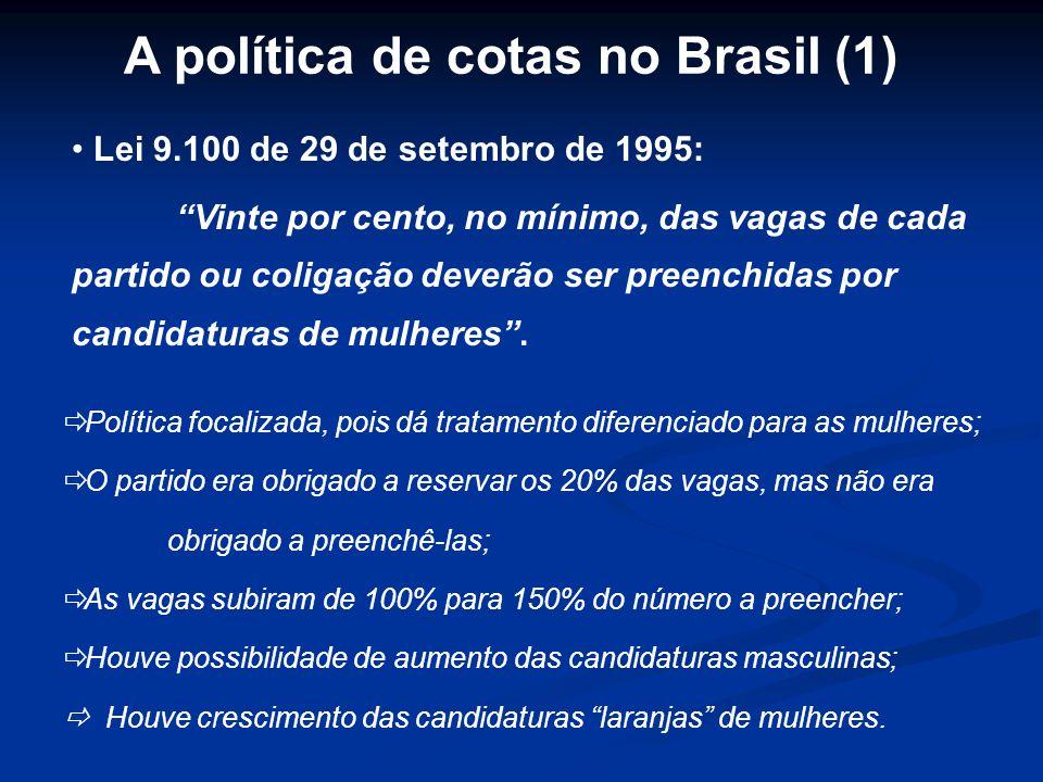A política de cotas no Brasil (1)