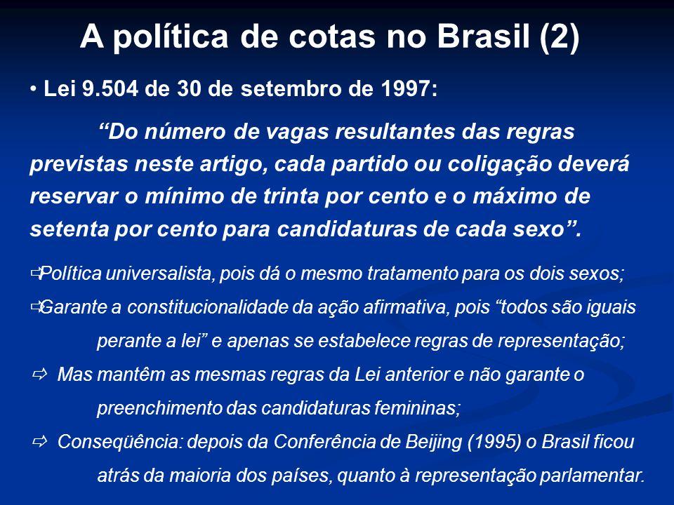 A política de cotas no Brasil (2)