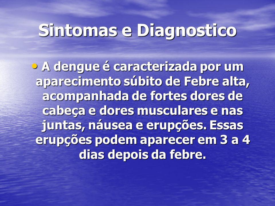 Sintomas e Diagnostico