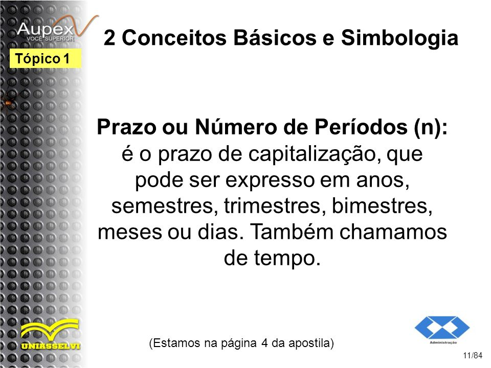 2 Conceitos Básicos e Simbologia
