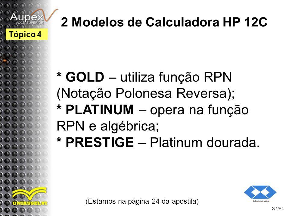 2 Modelos de Calculadora HP 12C
