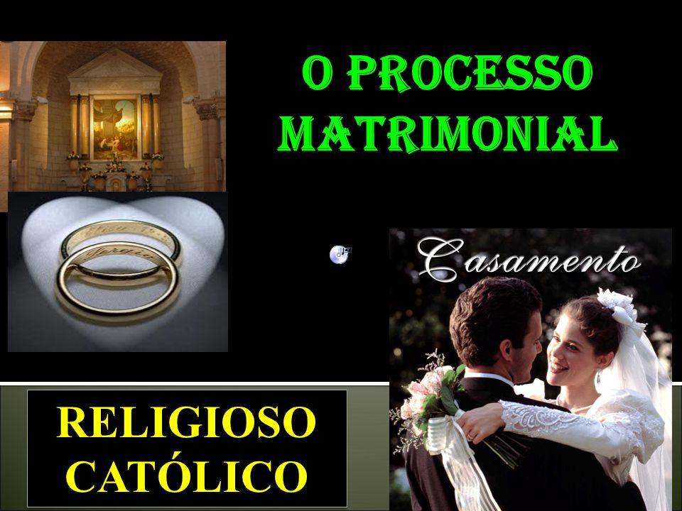 O processo matrimonial
