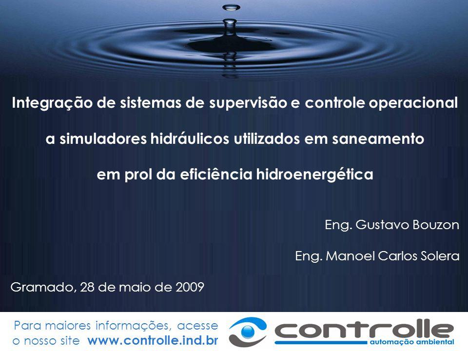 Integração de sistemas de supervisão e controle operacional