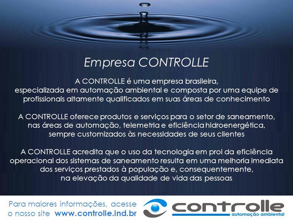 Empresa CONTROLLE A CONTROLLE é uma empresa brasileira,