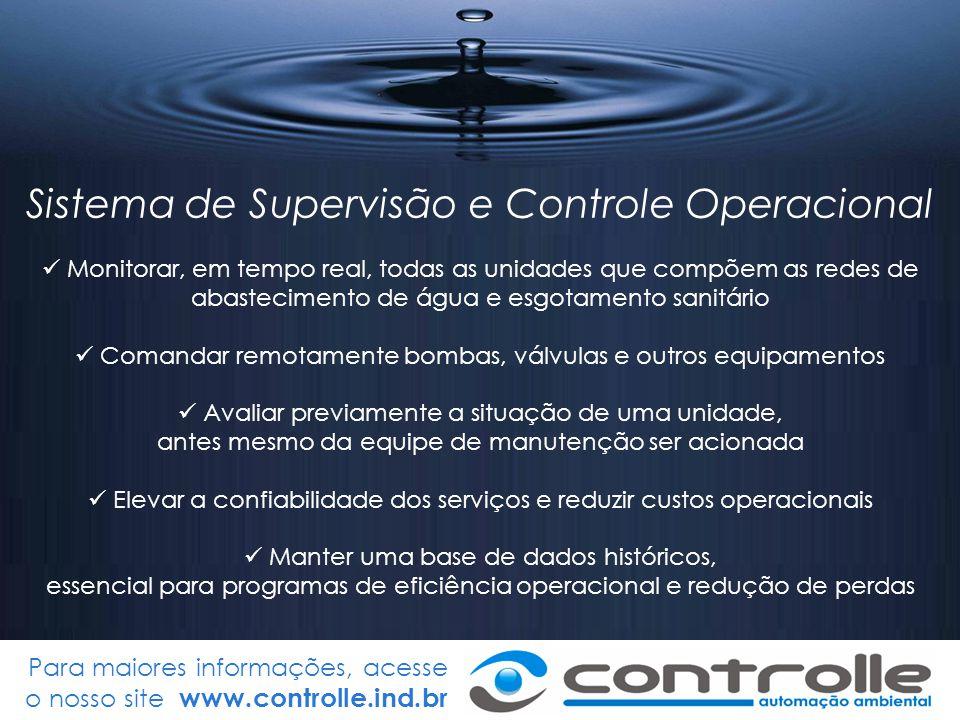 Sistema de Supervisão e Controle Operacional