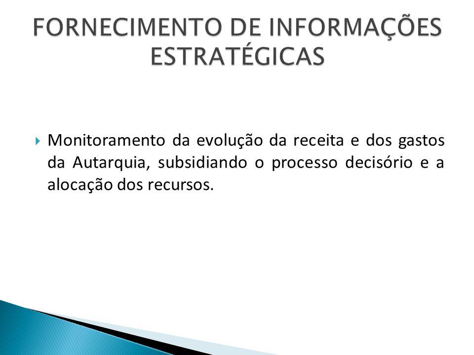 FORNECIMENTO DE INFORMAÇÕES ESTRATÉGICAS