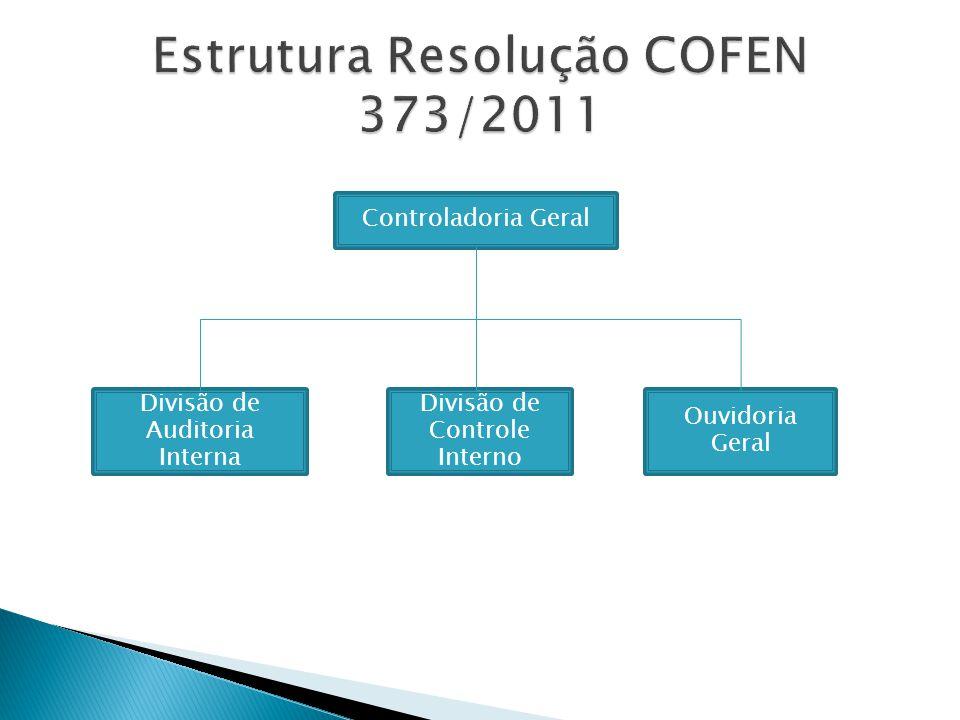 Estrutura Resolução COFEN 373/2011