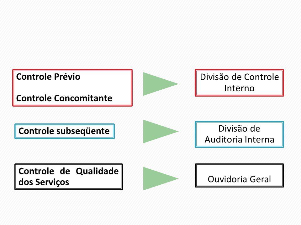 Controle Concomitante Divisão de Controle Interno