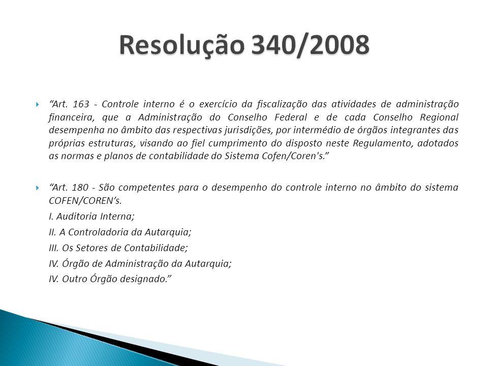 . Resolução 340/2008.