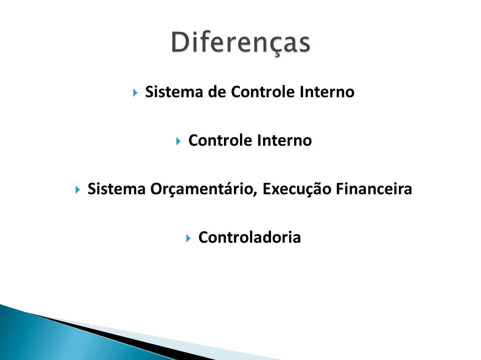 Sistema de Controle Interno Sistema Orçamentário, Execução Financeira