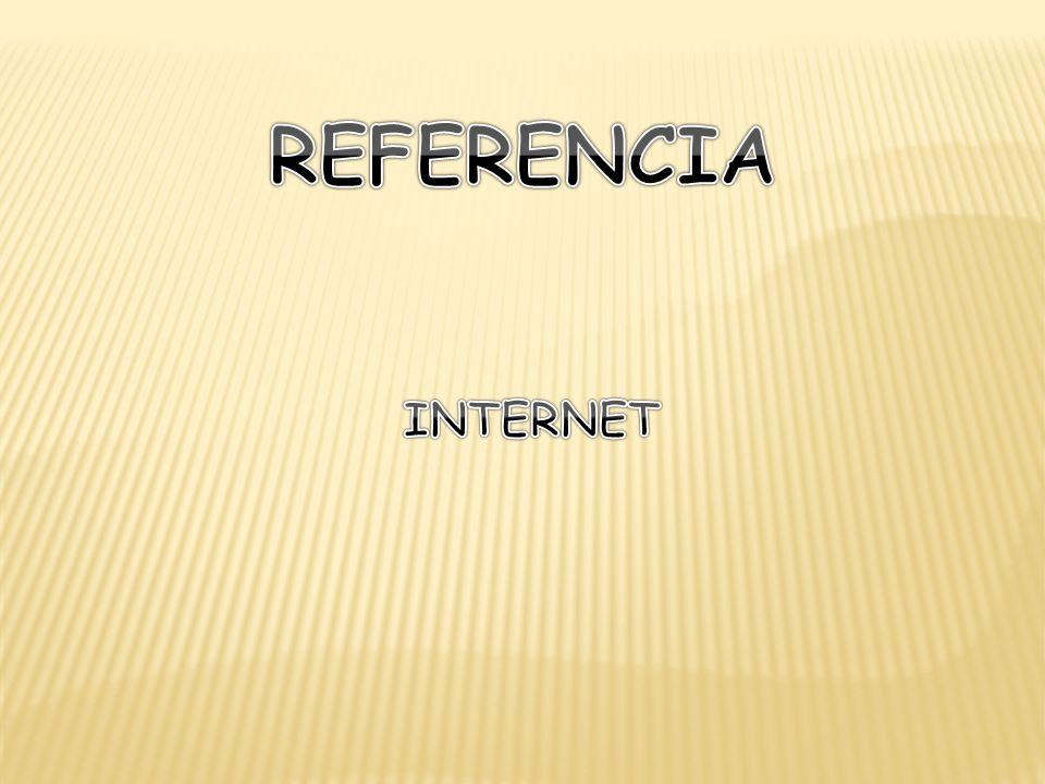 REFERENCIA INTERNET