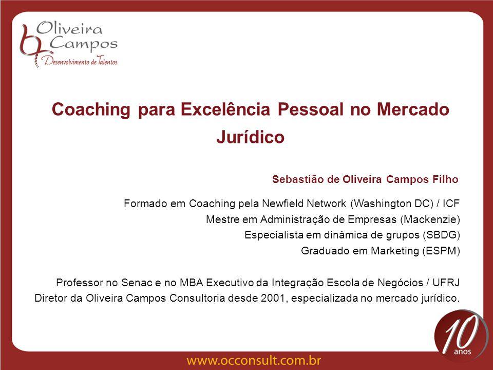 Coaching para Excelência Pessoal no Mercado Jurídico