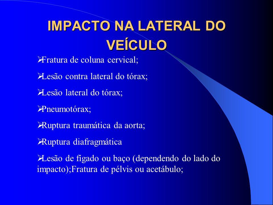 IMPACTO NA LATERAL DO VEÍCULO