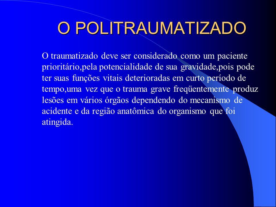 O POLITRAUMATIZADO