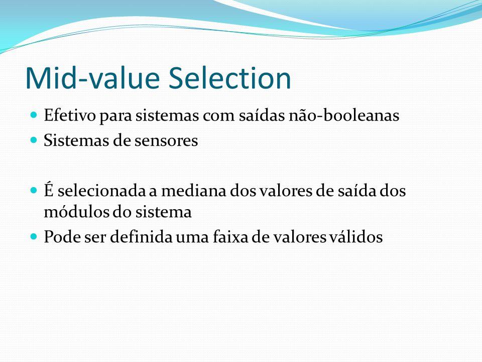 Mid-value Selection Efetivo para sistemas com saídas não-booleanas