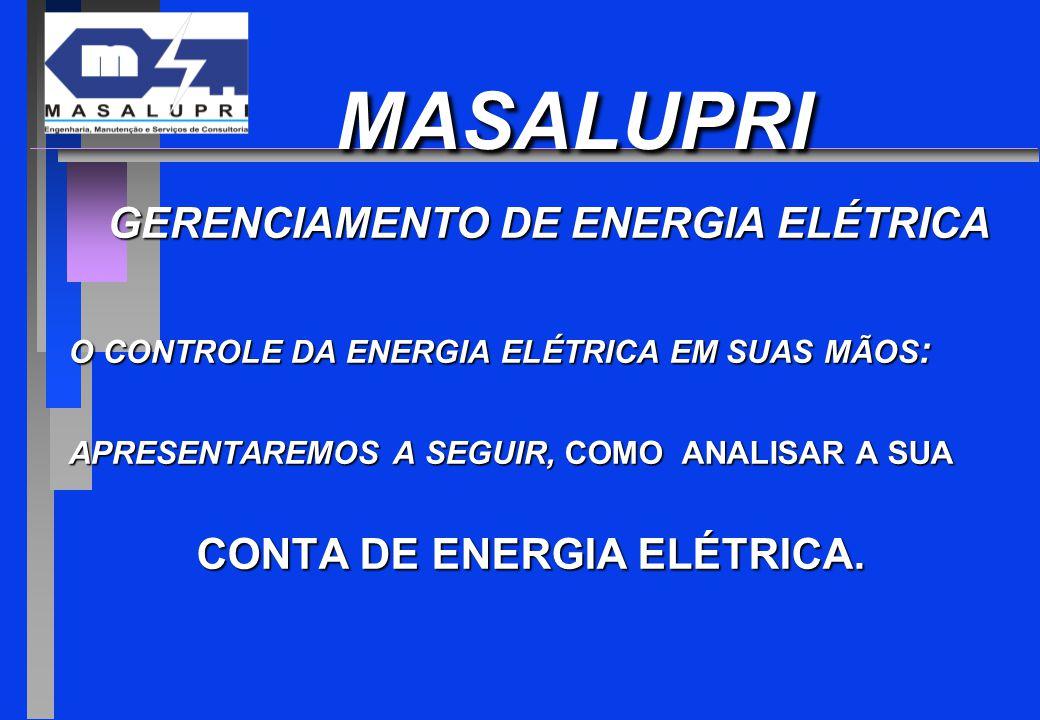 GERENCIAMENTO DE ENERGIA ELÉTRICA CONTA DE ENERGIA ELÉTRICA.