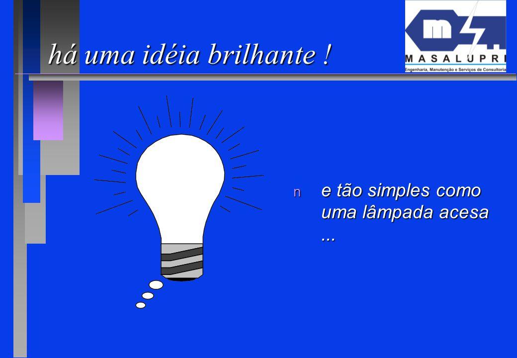 há uma idéia brilhante ! e tão simples como uma lâmpada acesa ... 11