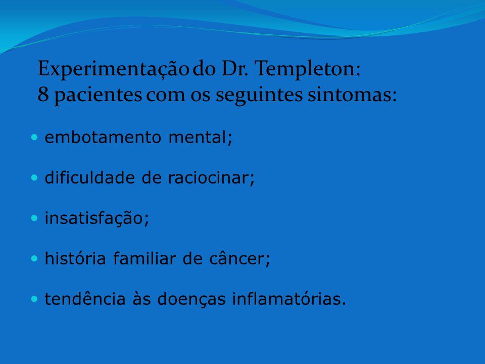 Experimentação do Dr. Templeton: