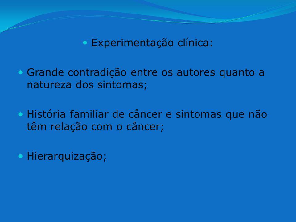 Experimentação clínica: