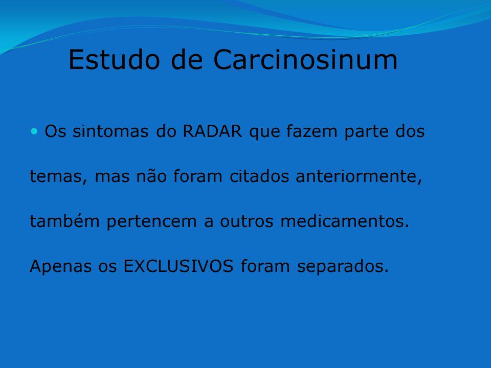 Estudo de Carcinosinum