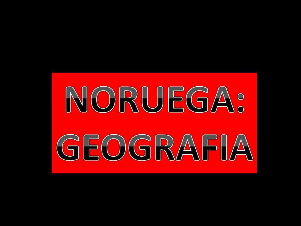 NORUEGA: GEOGRAFIA