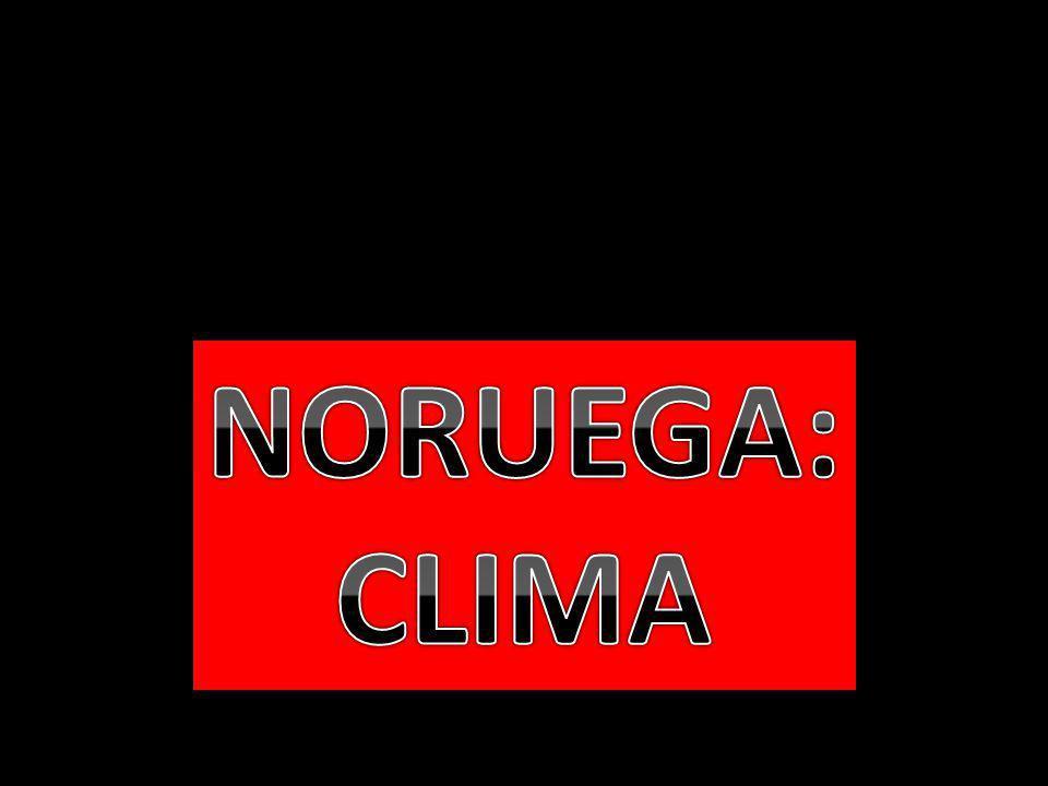 NORUEGA: CLIMA