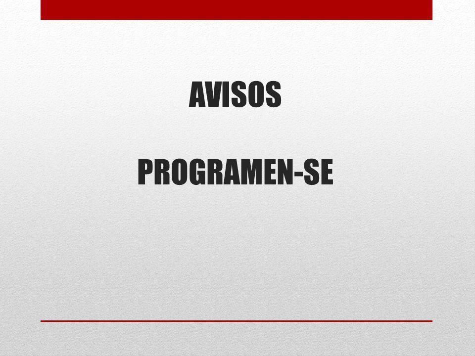 AVISOS PROGRAMEN-SE