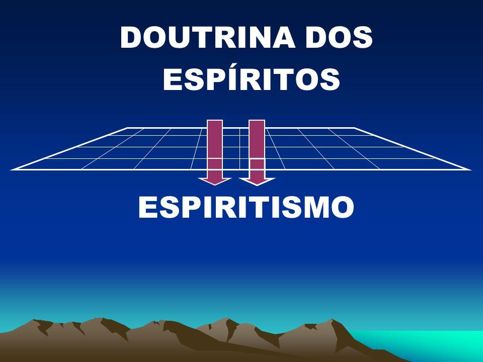 DOUTRINA DOS ESPÍRITOS ESPIRITISMO