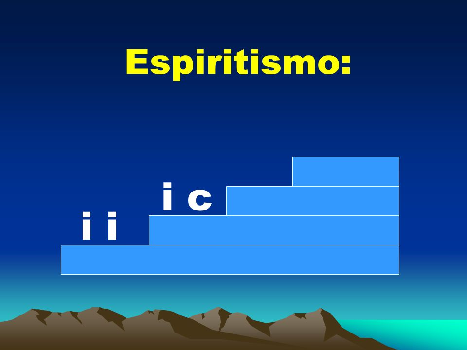 Espiritismo: i c i i