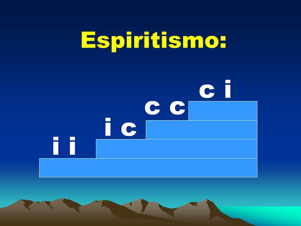Espiritismo: c i c c i c i i