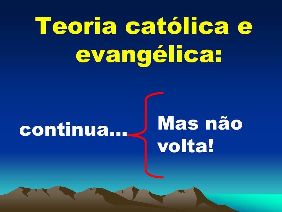 Teoria católica e evangélica:
