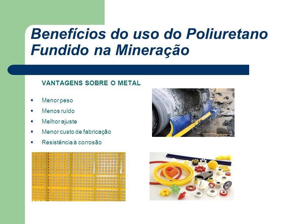 Benefícios do uso do Poliuretano Fundido na Mineração