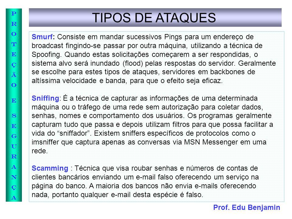 TIPOS DE ATAQUES