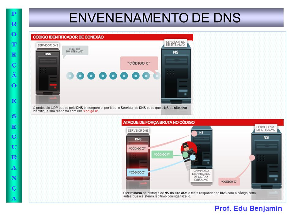 ENVENENAMENTO DE DNS