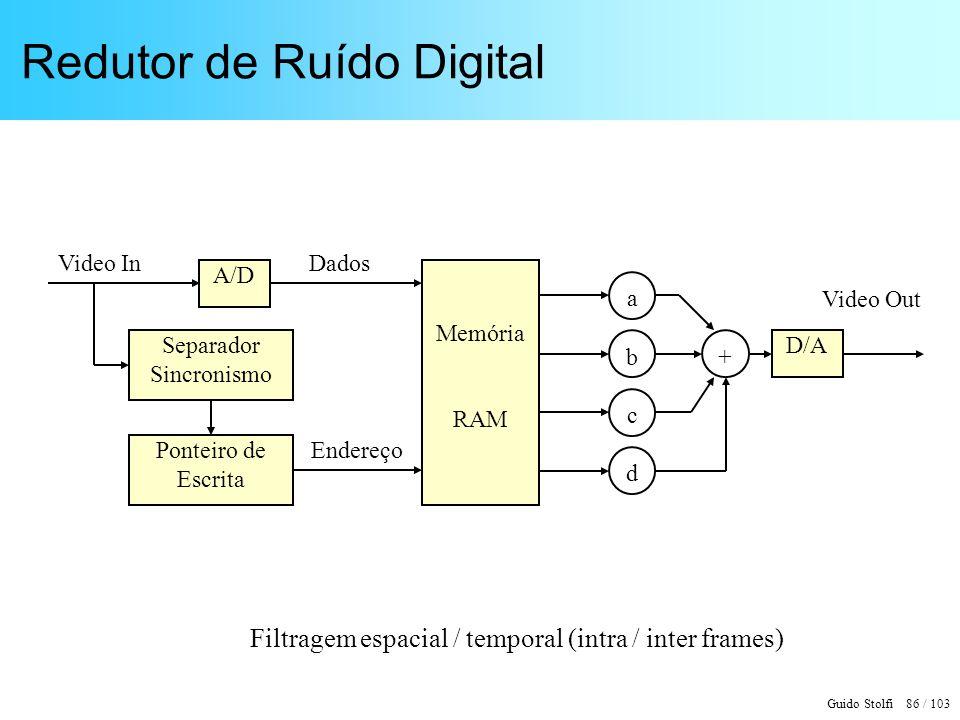 Redutor de Ruído Digital