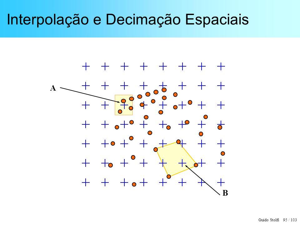 Interpolação e Decimação Espaciais