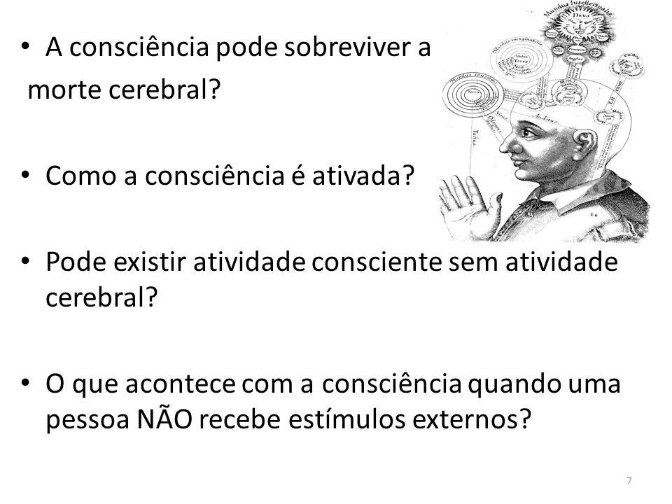 A consciência pode sobreviver a
