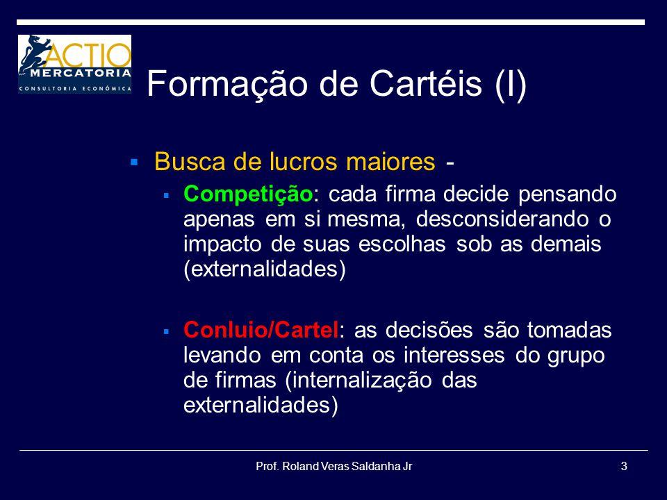 Formação de Cartéis (I)
