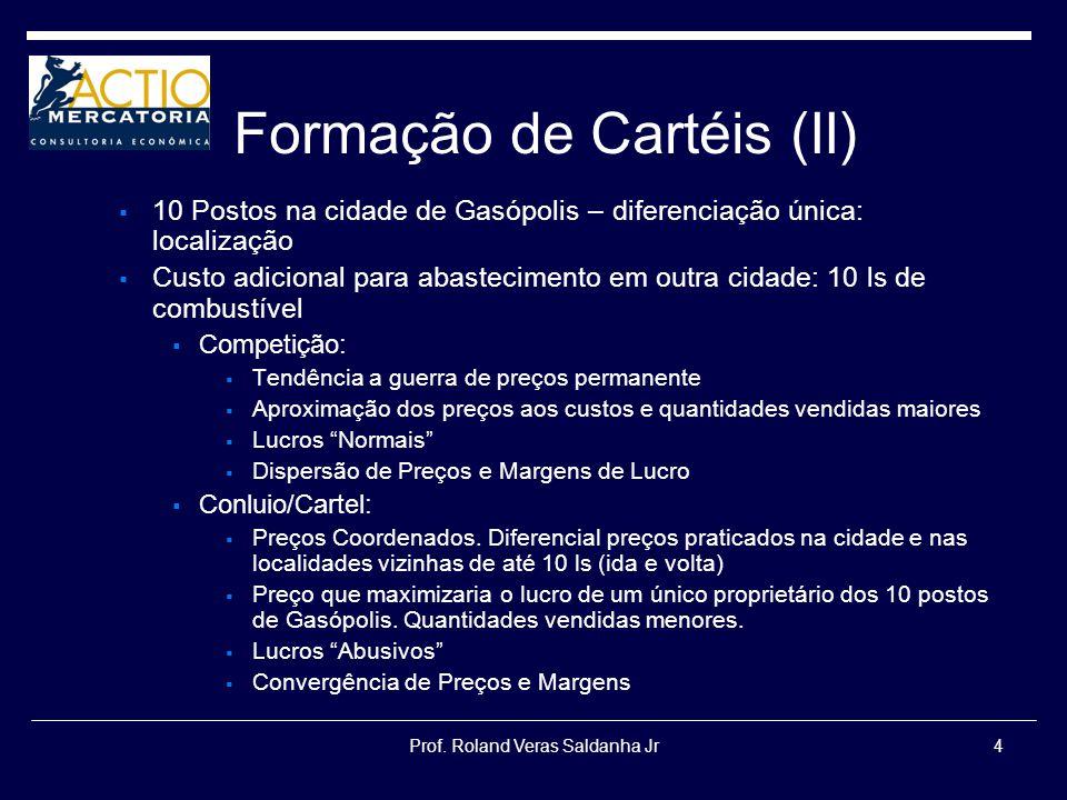 Formação de Cartéis (II)