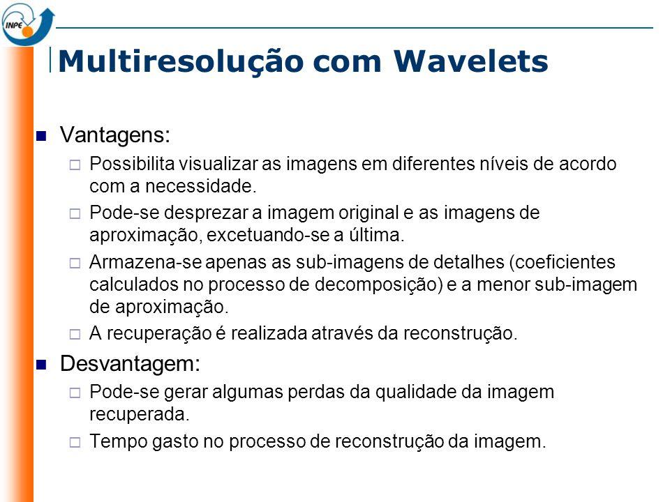 Multiresolução com Wavelets