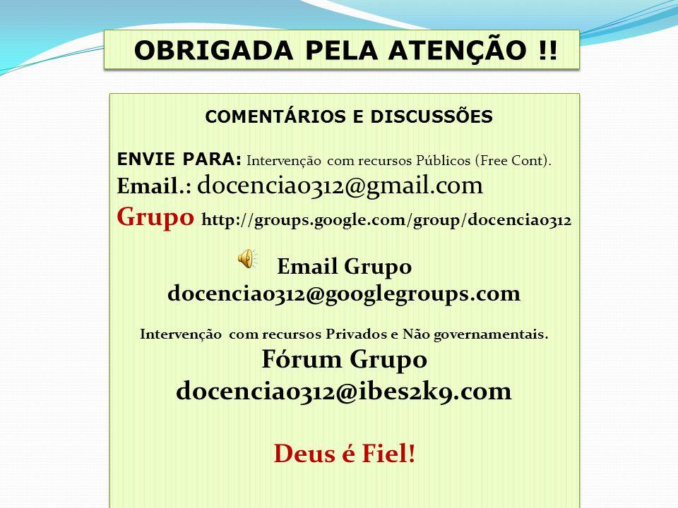 COMENTÁRIOS E DISCUSSÕES