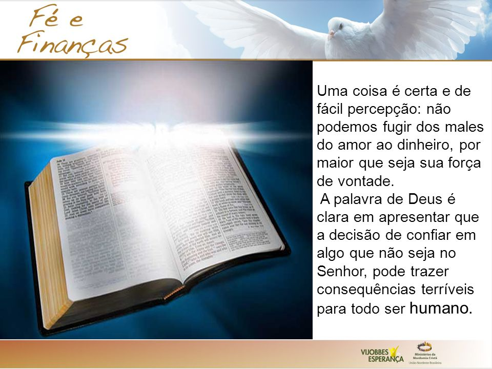 """Deus Não Dá Fardo Maior Do Que Podemos Carregar: """"Porque Onde Estiver O Teu Tesouro, Ai Estará Também O Teu"""