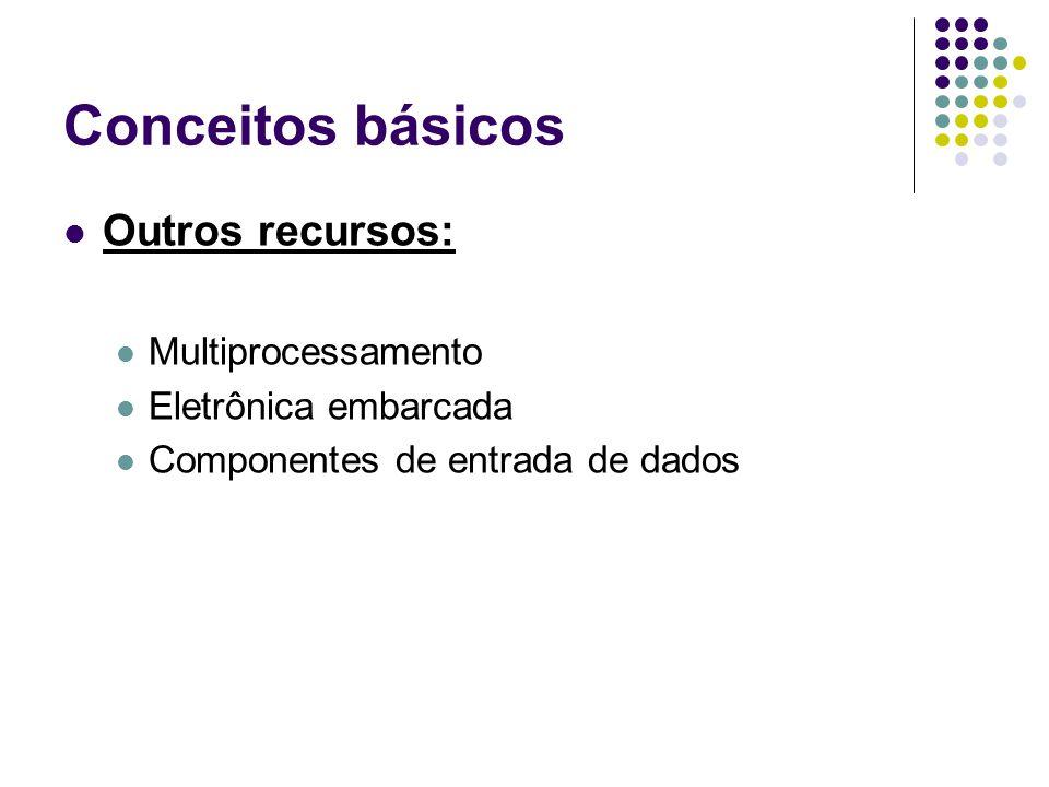 Conceitos básicos Outros recursos: Multiprocessamento