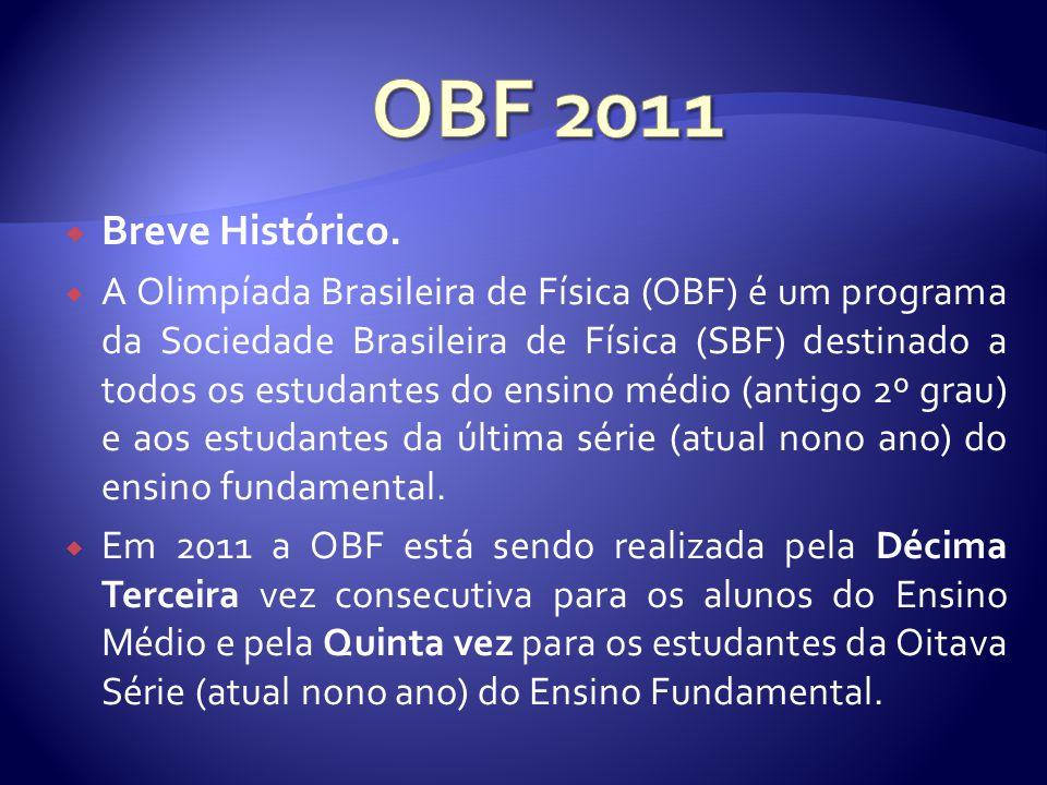 OBF 2011 Breve Histórico.