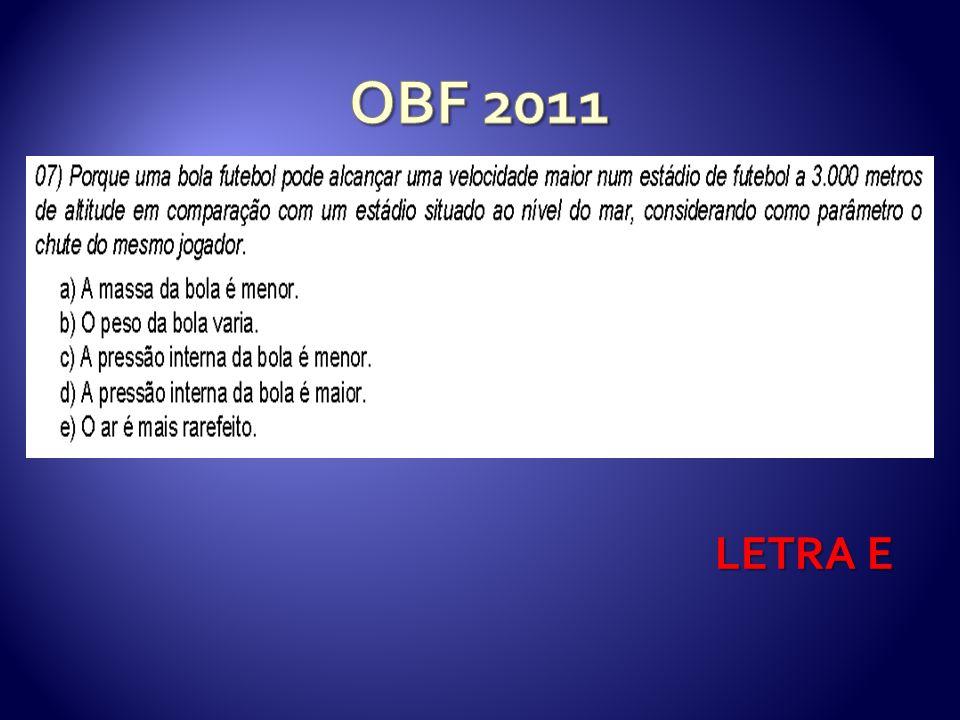 OBF 2011 LETRA E