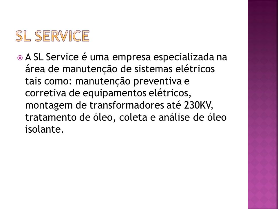 SL SERVICE