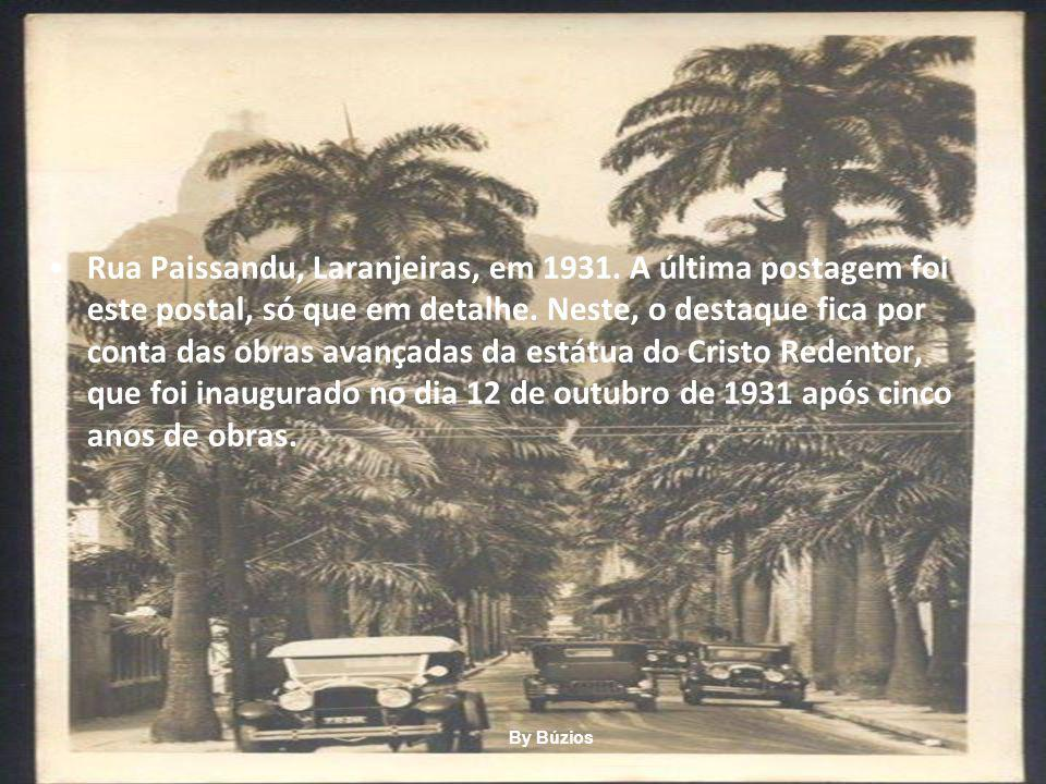 Rua Paissandu, Laranjeiras, em 1931